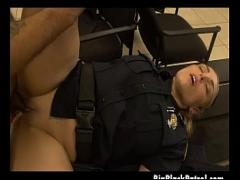 Download erotic category cumshot (300 sec). Chubby White Female Cops Sharing Facial From Big Black Dick.