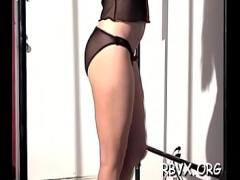 Nice hub video category bdsm (306 sec). Attractive young beauty gets her first bondage experience.