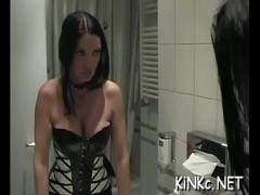Download amorous video category fisting (308 sec). Kinky mistress foot fucks a-hole.