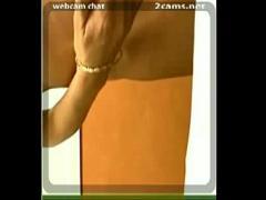 Nice sensual video category cam_porn (240 sec). webcam masturbation in office.