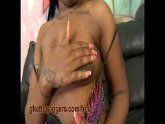 Stars sexual video category exotic (240 sec). White Dicks Hammering Her Ebony Throat.