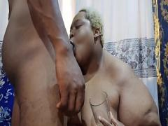 Adult porno category blowjob (1111 sec). AFRICANCHIKITO USED HER DILDO TO FUCK AND FINGER HER MAN039_S ASS.