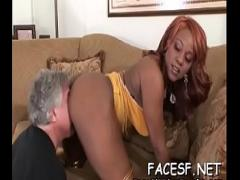 Genial video list category bdsm (309 sec). Pungent woman gets steamy fucking lesson.
