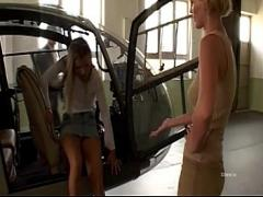 Sex sensual video category big_cock (2118 sec). Rocco Siffredi banging two girls in a helicopter hangar.