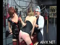 Full pornography category blowjob (312 sec). Enticing chick fucks on camera.