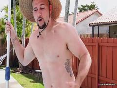 Sexy sexual video category milf (295 sec). Gigantic Boobs MILF Alexis Fawx Charms Pool Boy.